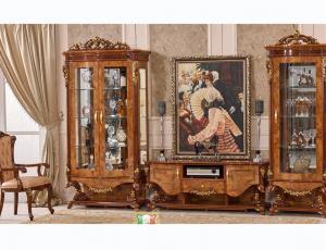 Гостиная Наполеон орех 3888D   фирма Fanbel
