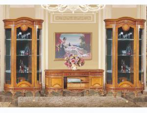 Гостиная Катания 3908D орех фирма Fanbel