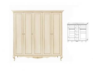 Спальня Неаполь фабрика Timber