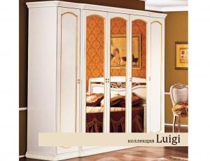 Спальня Луиджи белая отделка фабрика Miassmobili