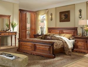 Спальня Милана в цвете слоновая кость фабрика Пинскдрев