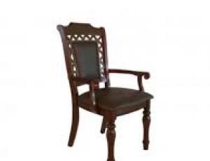 Кресло CHARLIZE обитое экокожа (51x56x1025 см) цвет: Тёмный орех (Light Walnut) (по 2 шт./1 кор.)