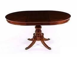 Стол 593-22 цвет: Dark Walnut - круглый раскладной 107х107(153)