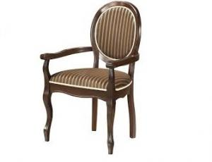 """Кресло """"Fiona"""" ткань ТХ-10В (60х52х97 см) цвет: Темный орех (Tobacco. FN-AC)"""