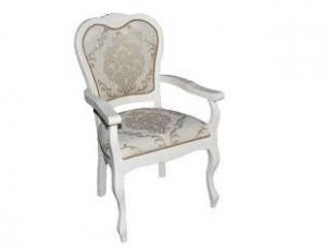 Кресло MIK-2114A Princess цвет: Ivory - с мягкими сидением и спинкой 2 шт/1 кор 97*575*572