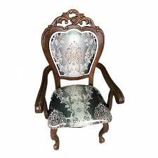 809 A. Кресло с мягкой спинкой и сидением обивка - ткань серо-коричн.(N 805) (110х52х64 см) цвет: Тёмная вишня (Brown)