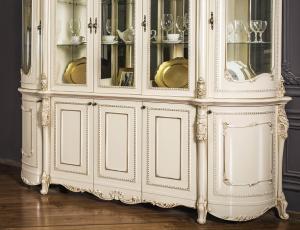 Гостиная Джоконда цвет крем с патиной шампань фабрика Эра