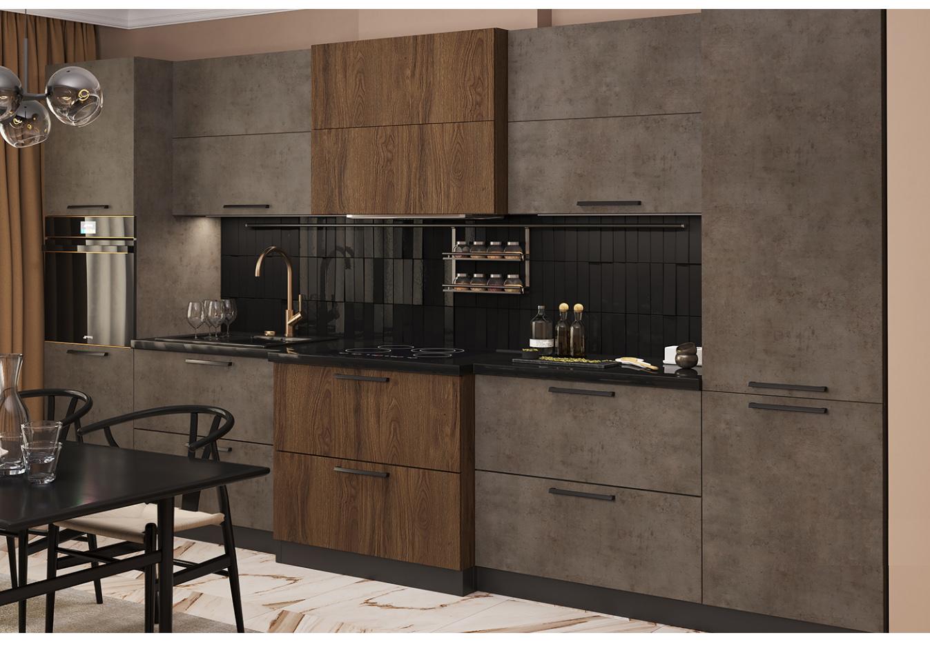 Кухни из арпы чибли коричневый фото